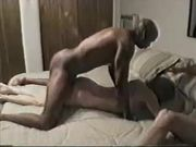 Dirty Old Woman Makes Sex with Black Stud