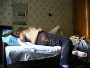 Russian Wife Invites Young Neighbor for Sex