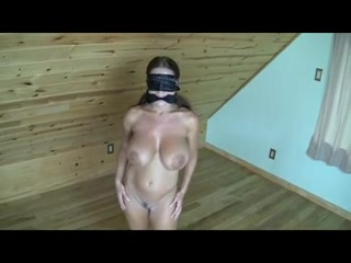 wife blindfolded tied Naked and